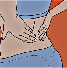 Mal de dos et reflexologie